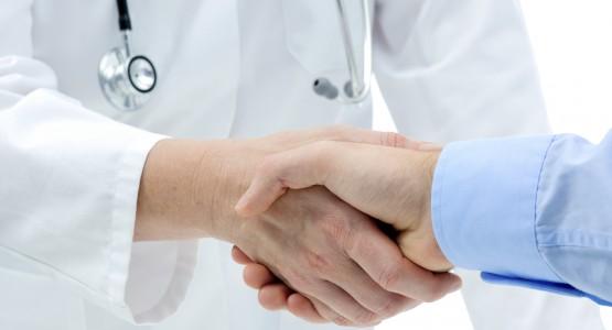 Vertrag mit Arzt